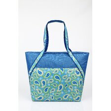 Insulated Fashion Paisley Tote