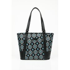 Insulated Fashion Style 154 Medallion Lunch Tote