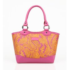 Insulated Fashion Style 36 Paisley Lunch Tote