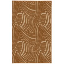 Casual Concepts Brush Stroke Apple Butter Rug
