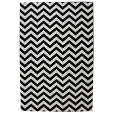 Outdoor Patio Woven Cream Herringbone Rug