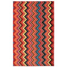 New Wave Multi Ziggidy Rug