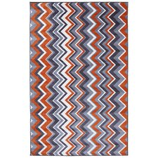 New Wave Orange Ziggidy Rug