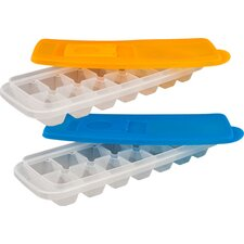 Ice Cube Tray with Lid (Set of 2)