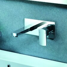 Safire Wall Mounted Bathroom Faucet with Single Lever Handle