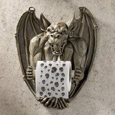 Flush the Gargoyle Bathroom Tissue Holder