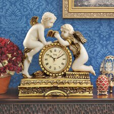Chateau Carbonne Cherub Mantle Clock