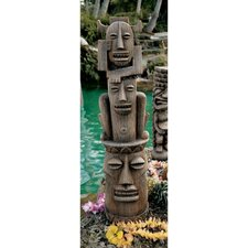 Tiki Gods of The Three Pleasures Statue