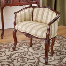 The Marguerite Petite Bergere Fabric Arm Chair