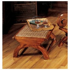 Plantation British Footstool