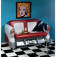 Back Seat Driver Pop Art Sofa