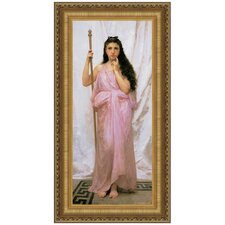 Young Priestess, 1902 Replica Painting Canvas Art
