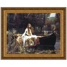 Lady of Shalott, 1888 Replica Painting Canvas Art
