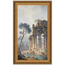 The Ruins Near The Water, 1779 Replica Painting Canvas Art