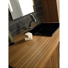 "Aeri 43.25"" Wood Unit with Vanity  Top"