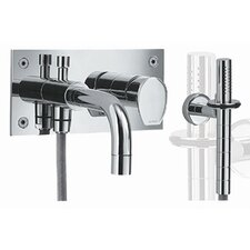 Gyro Wall Mount Tub and Shower Faucet