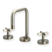 Metrohaus Widespread Bathroom Faucet with Double Cross Handles