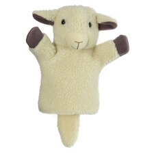 CarPets Sheep Puppet in White