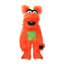 Monster Puppet in Orange