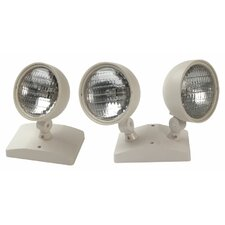 7W Round Remote Double Lamp Head