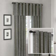 Anderson Silk Texture Grommet Window Treatment Collection