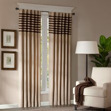 Dune Rod Pocket Curtain Panel Pair
