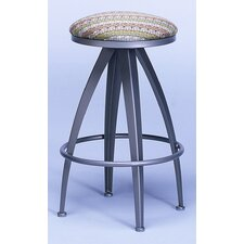 Stiletto Contemporary Backless Swivel Barstool