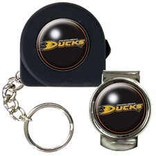 NHL 6 Feet Tape Measure Key Chain And Money Clip Set