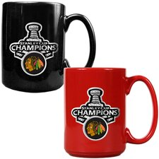 Blackhawks 2013 NHL Stanley Cup Mug (Set of 2)