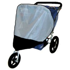 BOB Revolution / Stroller Strides Fitness Double Stroller Sun, Wind and Insect Cover