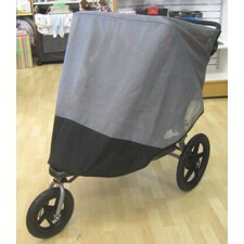 BOB Revolution SE 2011 / Stroller Strides Fitness Duallie Jogger Sun, Wind and Insect