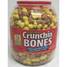 Crunchin Bones Barrel Dog Treat