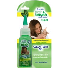 Fresh Breath Clean Teeth Gel for Cats