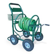 Residential and Industrial 4 Wheel Hose Reel Cart