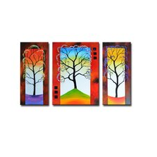 Radiance Boronia Canvas Art (Set of 3)