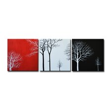 Radiance Mellisa Canvas Art (Set of 3)