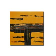 Radiance Amarillo Canvas Art