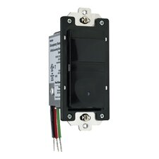 25-500W Occupancy/Vacancy Decorator Sensor with Dimmer in Black