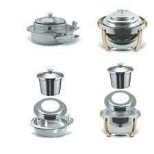 Large Round Stainless Steel Soup Station Kit