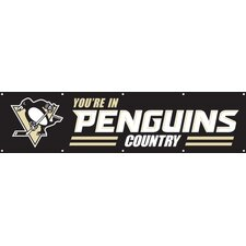 NHL Pittsburgh Penguins Banner