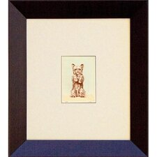 Puppy - So Big (Mini) Framed Print