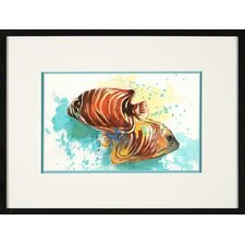 Angel Fish 3 Framed Print