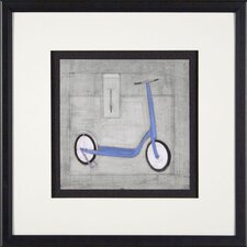 Scoot Framed Print