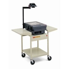 "29"" High UL Listed Overhead Projector Table"