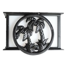 Americana Palm Tree Series Flush Mount