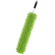 "18"" x 3"" Flexible Microfiber Dusting Wand"