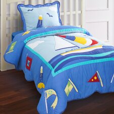 Hallmart Kids Nantucket Quilt Set