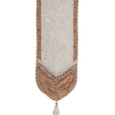 Swanson Table Runner with Cord, Tassel Trim and Tassels
