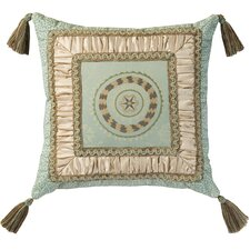 Fortune Synthetic Pillow with Braid and Tassels