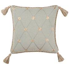 Savannah Synthetic Pillow with Tassel and Cord